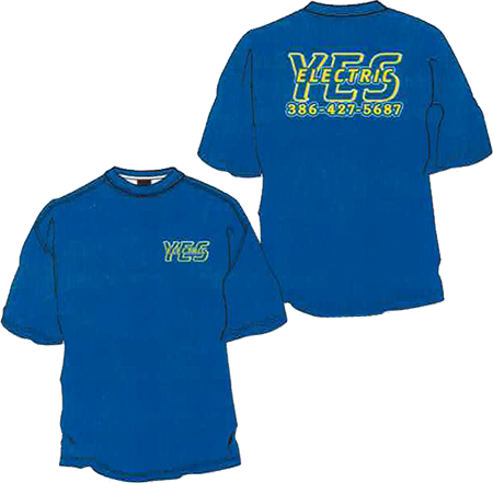 YesShirtsBlue